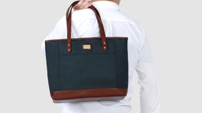 稼女の身だしなみはバッグまで。エコバッグ要らずの大容量